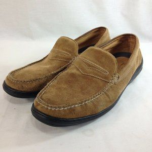 Tommy Bahama Shoes Penny Loafers Mens 10.5 M Beige